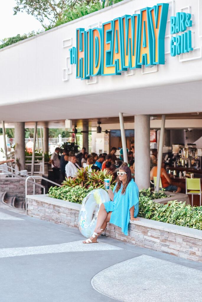 30A Mama Travel - Universal Hotels Cabana Bay - Hideaway Bar and Grill