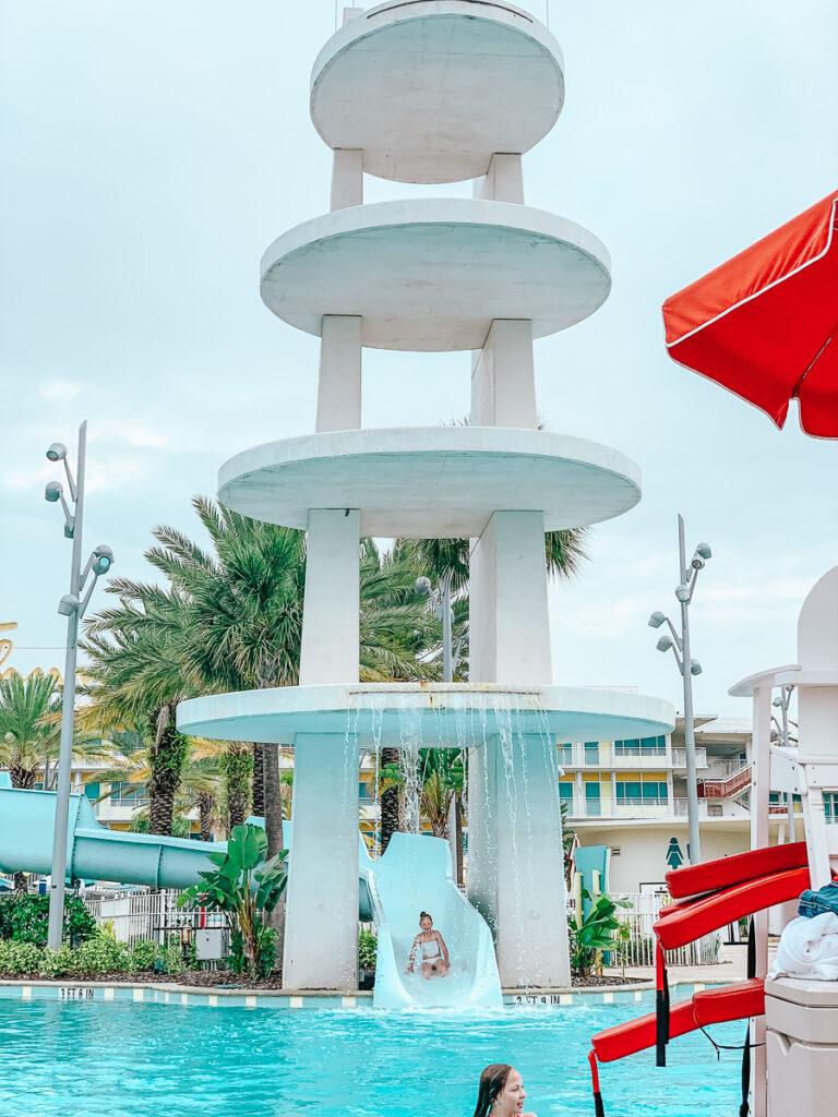 30A Mama Travel - Water Slide at Cabana Bay