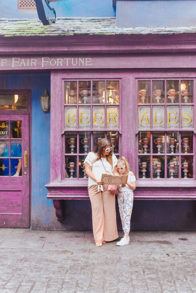 30A Mama Travels - Wizarding World of Harry Potter - Fair Fortune