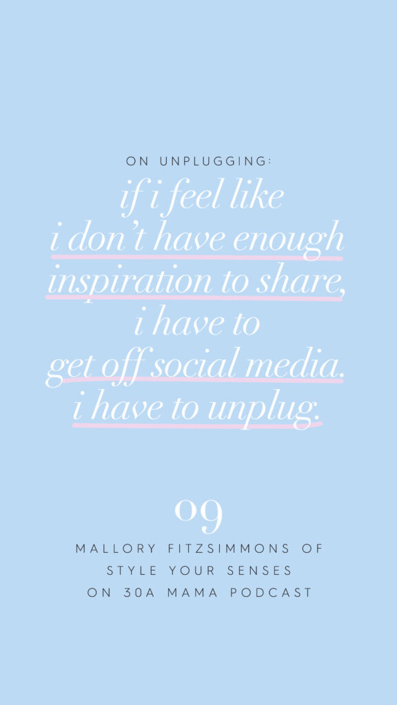 30A Mama Podcast - Mallory Fitzsimmons Episode 9 - Mom Quotes
