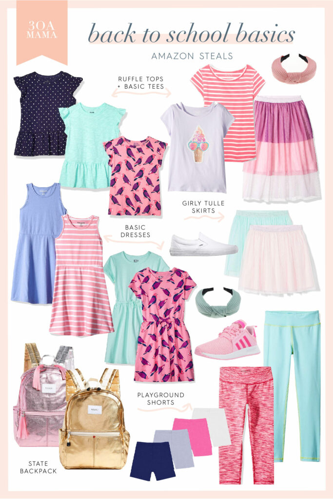 30A Mama Shopping - Girls Back to School Amazon