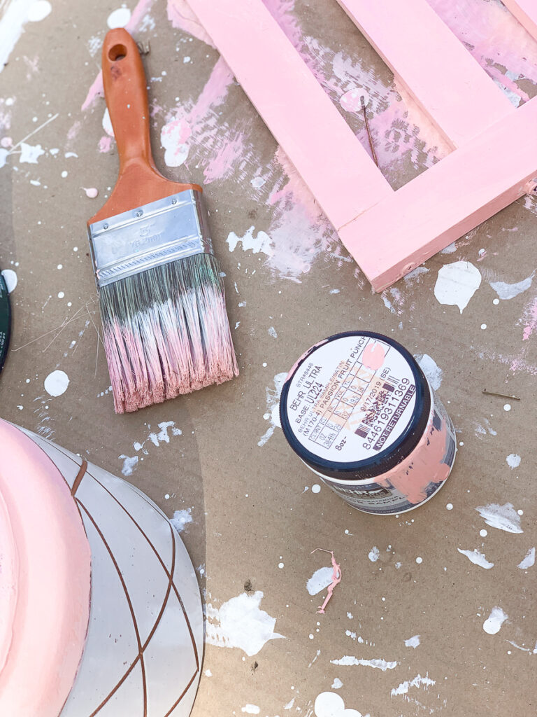 KidKraft Playhouse Makeover - Beach House 30A Mama Painting Shutters