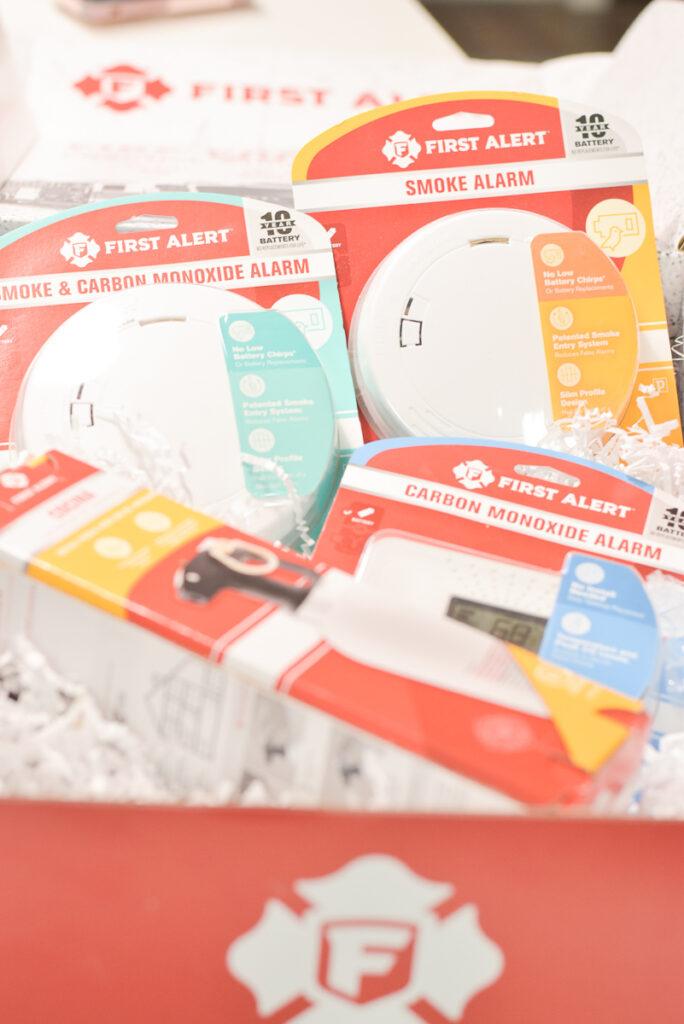 30A Mama Fire Prevention Smoke Alarm