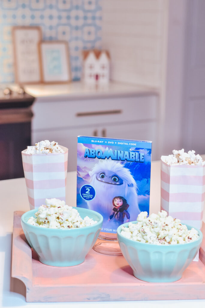 30A Mama Party Popcorn - Movie Night Ready with Abominable DVD