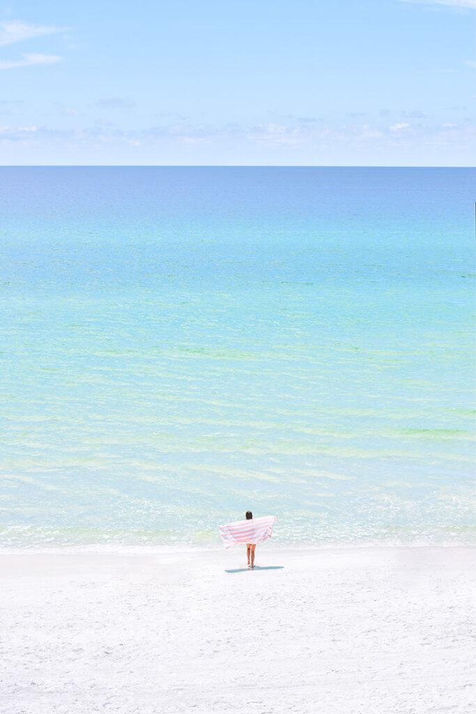 30A Mama Blush Beach Towel gulf of Mexico