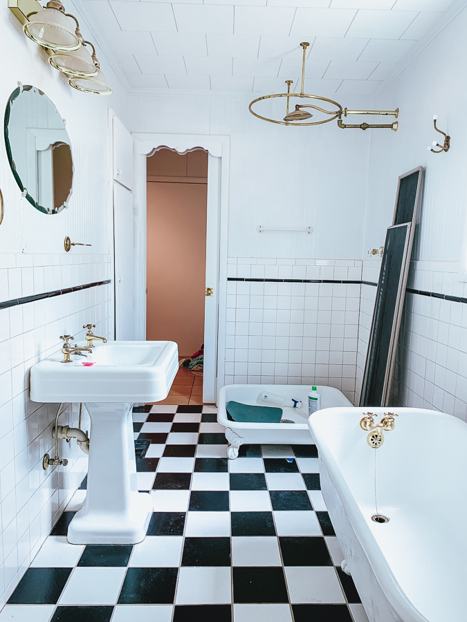 30A Mama Beachy Bathroom Renovation -Before