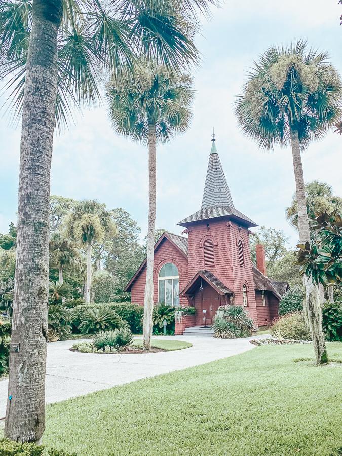 30A Mama Jekyll Island Faith Chapel
