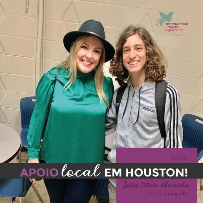 Apoio Local em Houston/Texas - João Vitor Almeida