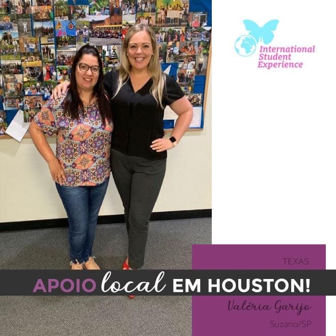 Apoio Local em Houston/Texas - Valéria Garijo