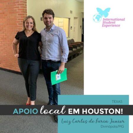 Apoio Local em Houston/Texas - Luiz Carlos de Faria Junior