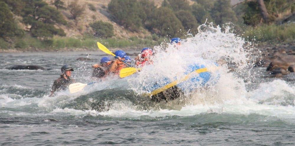Yellowstone rafting