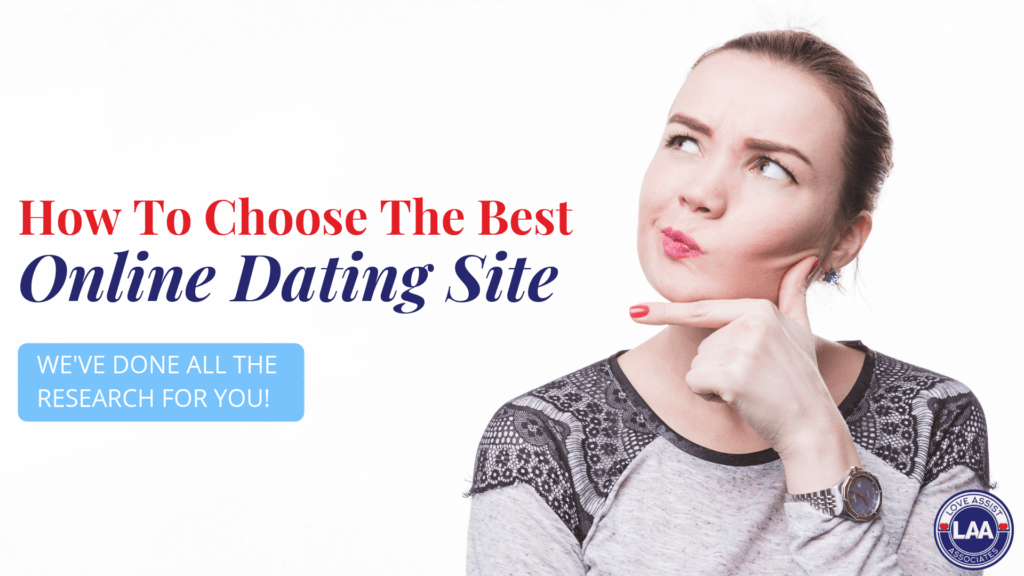 How to choose the best online dating site