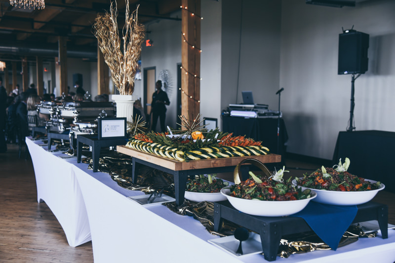 kangaroo kitchen wedding buffet