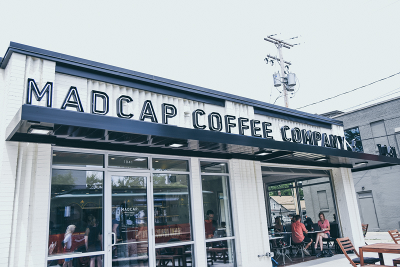 exterior photo of a coffee shop