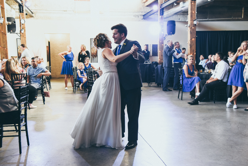 first dance between bride and groom