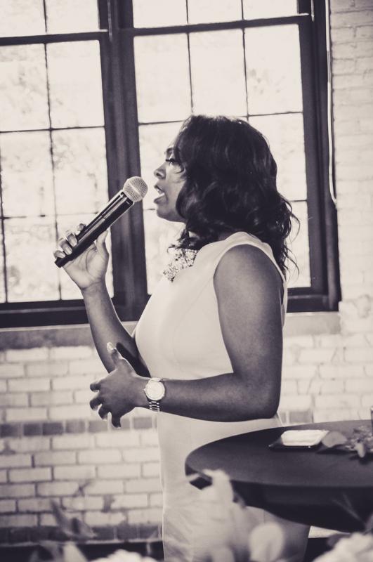 soloist at a wedding