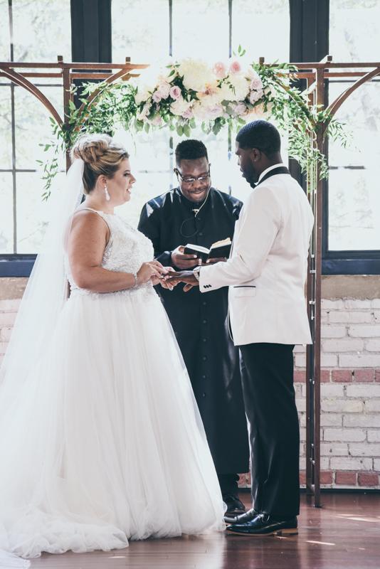 ring ceremony during wedding ceremony