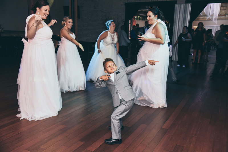 dancing at a reception