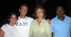 Officers L to R: Nicci Roos, Jason Budsan, Sandra Kelly and Dalma Simon.