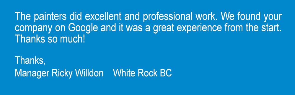 white rock BC