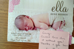 Baby announcement at South Reno Acupuncture