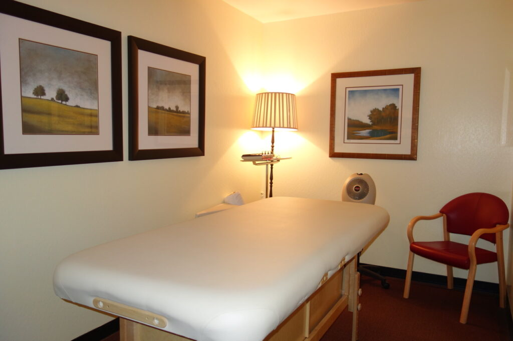 South Reno Acupuncture Office Treatment Room