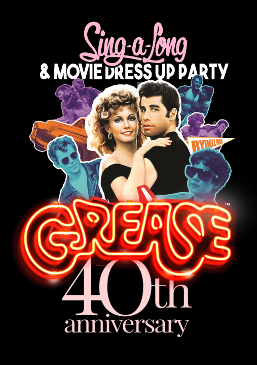 Grease-sing-a-long-poster