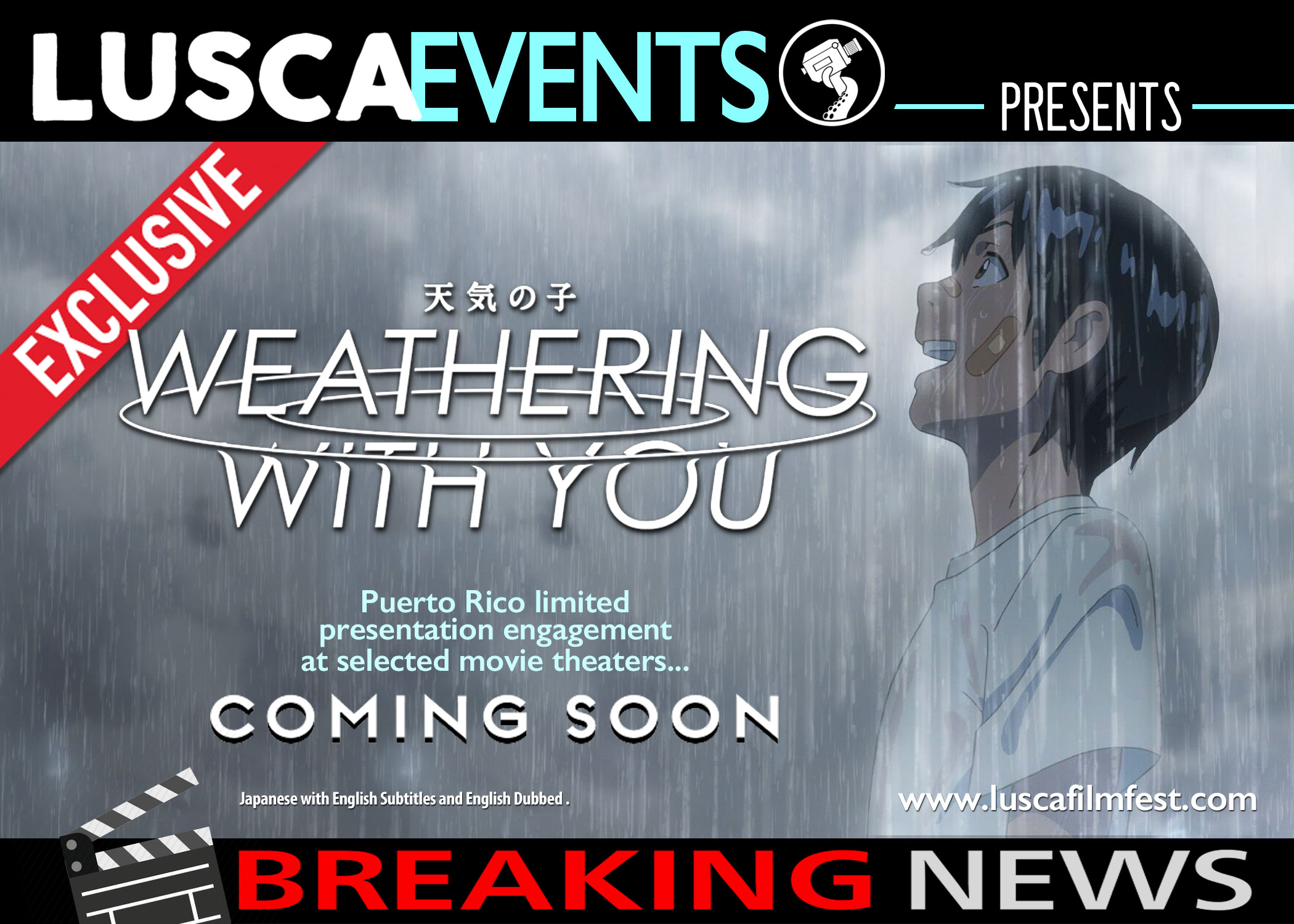 Weathering with You @ Puerto Rico