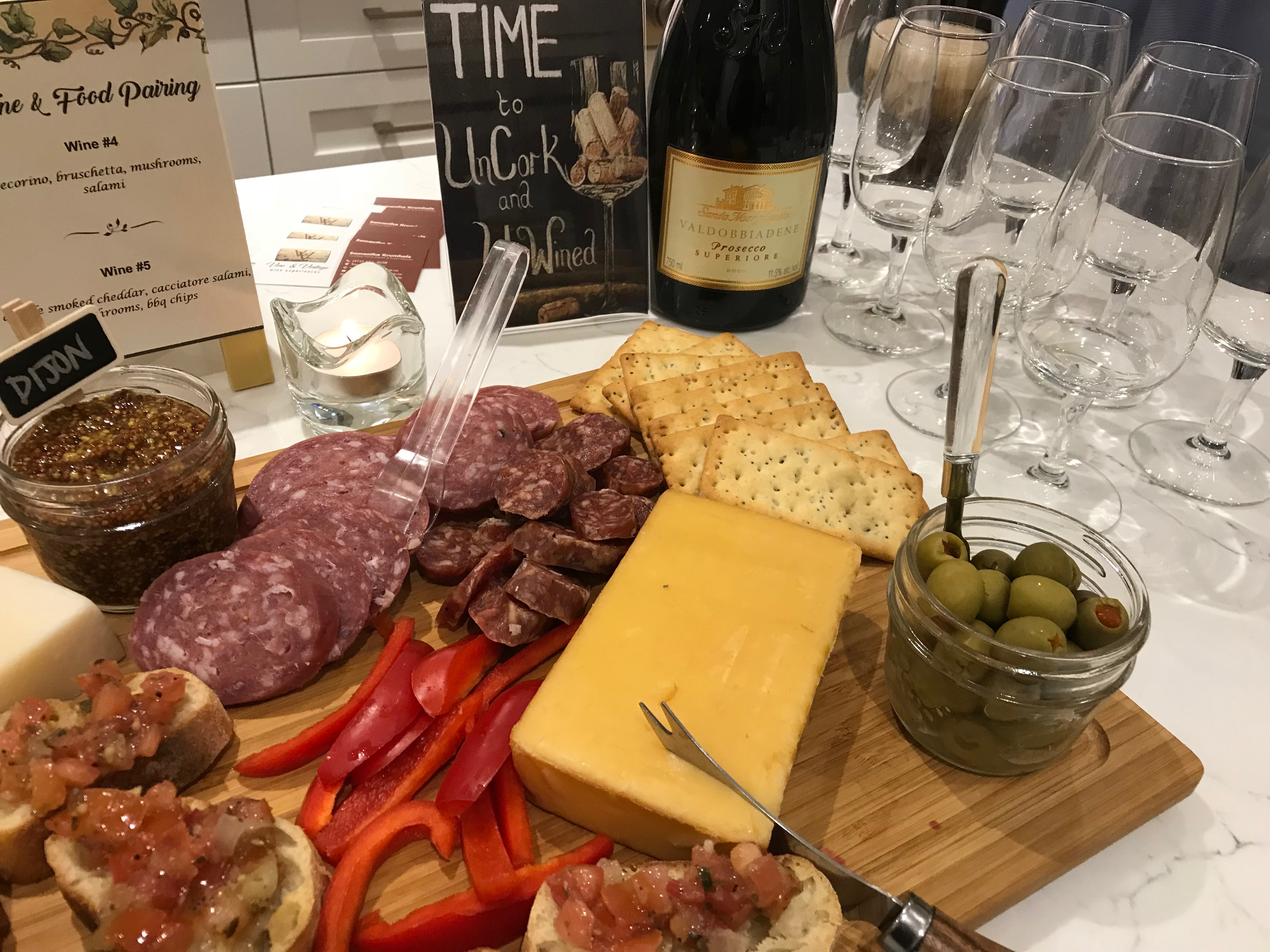 Charcuterie Table Display
