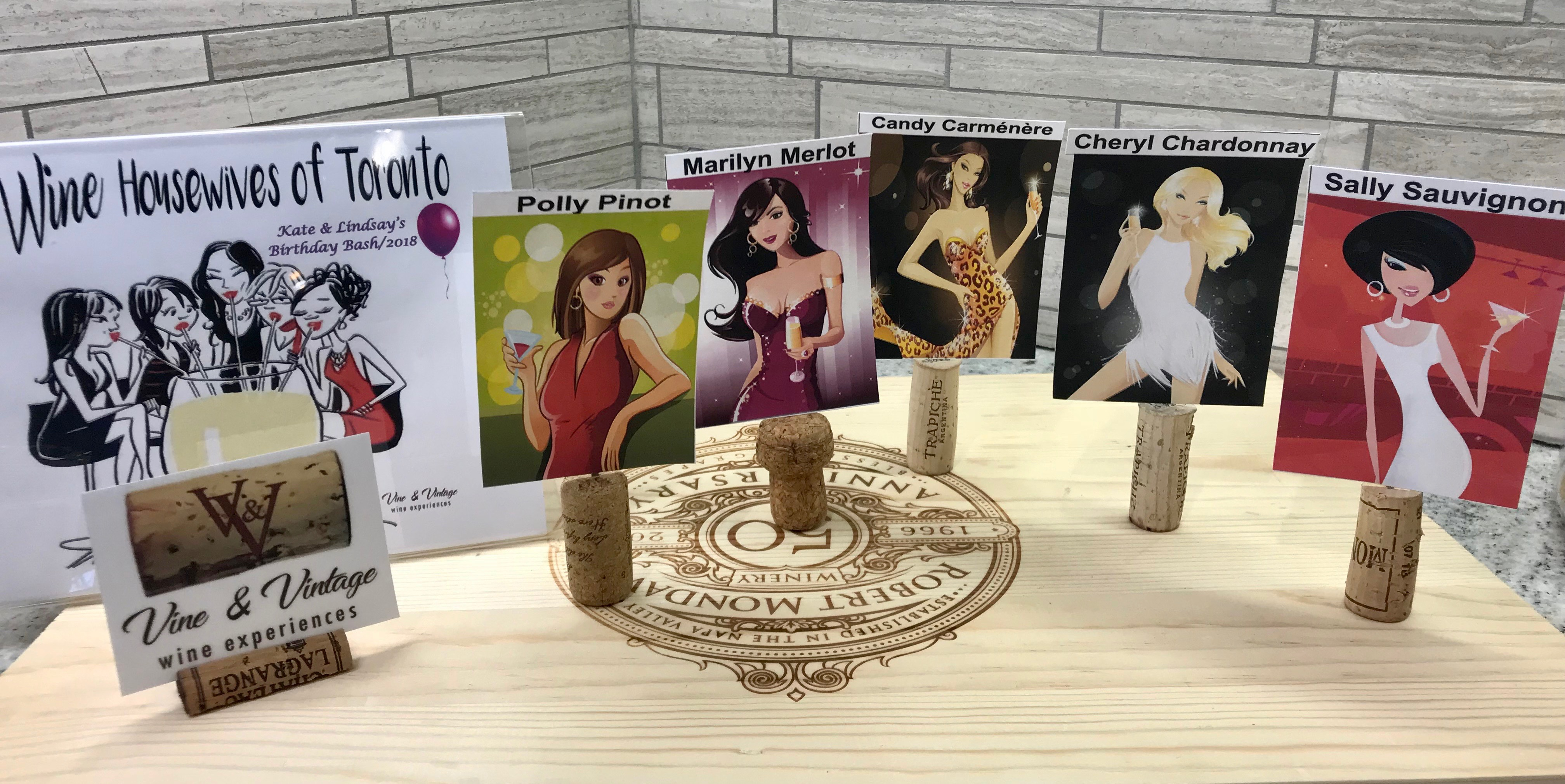 housewives of Toronto display