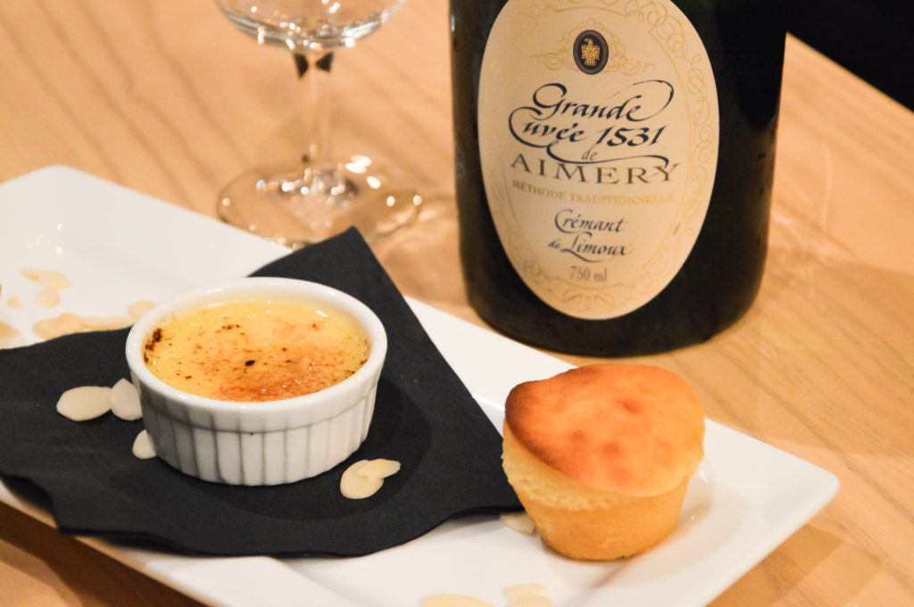 champagne and dessert pairing