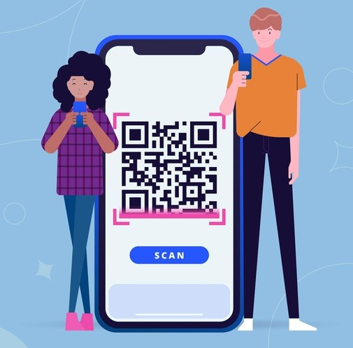 qr-code-scanning-concept-with-characters-illustrated_23-2148625454
