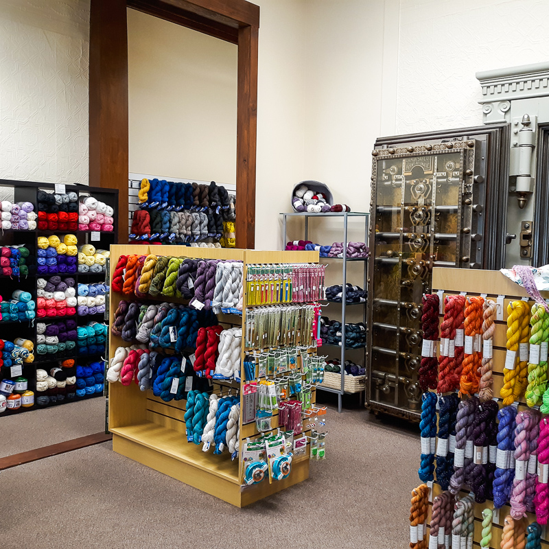 View of The Yarn Bank store