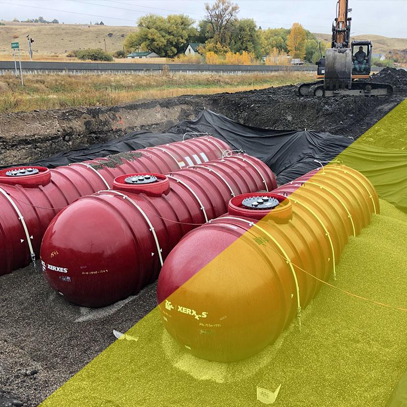 petroleum equipment installation