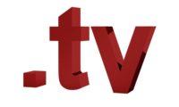 3D Domain tv mit Weltkugel