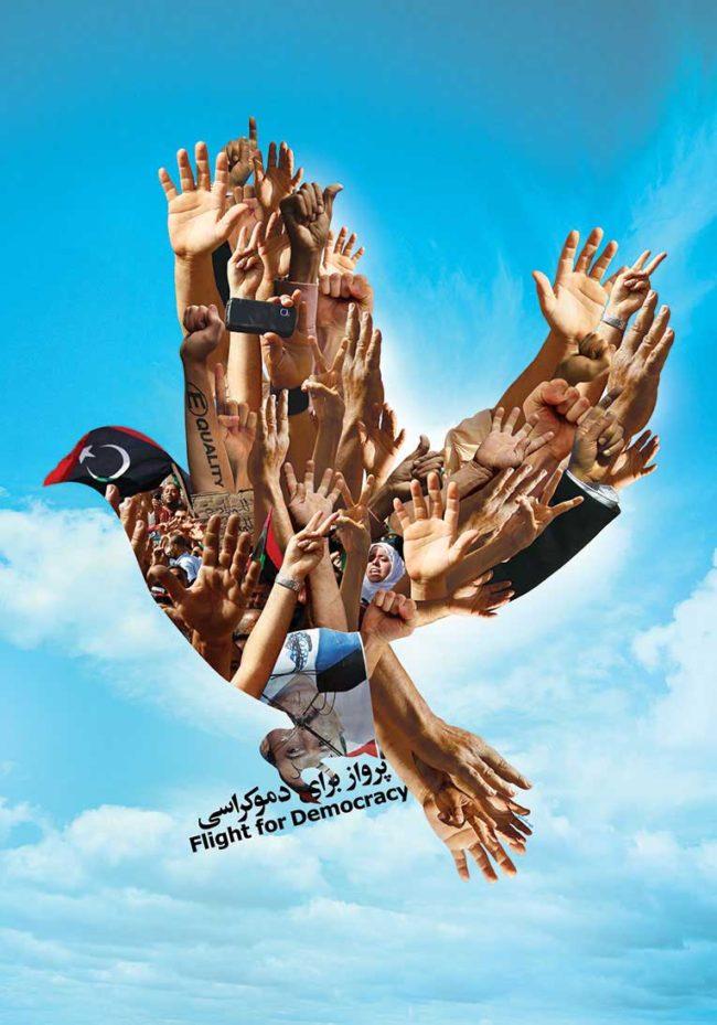 Flight for democracy   2012