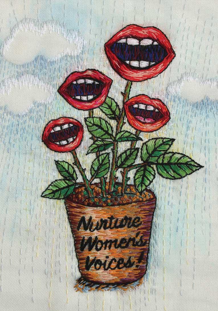 Nurture women's voices! | 2017