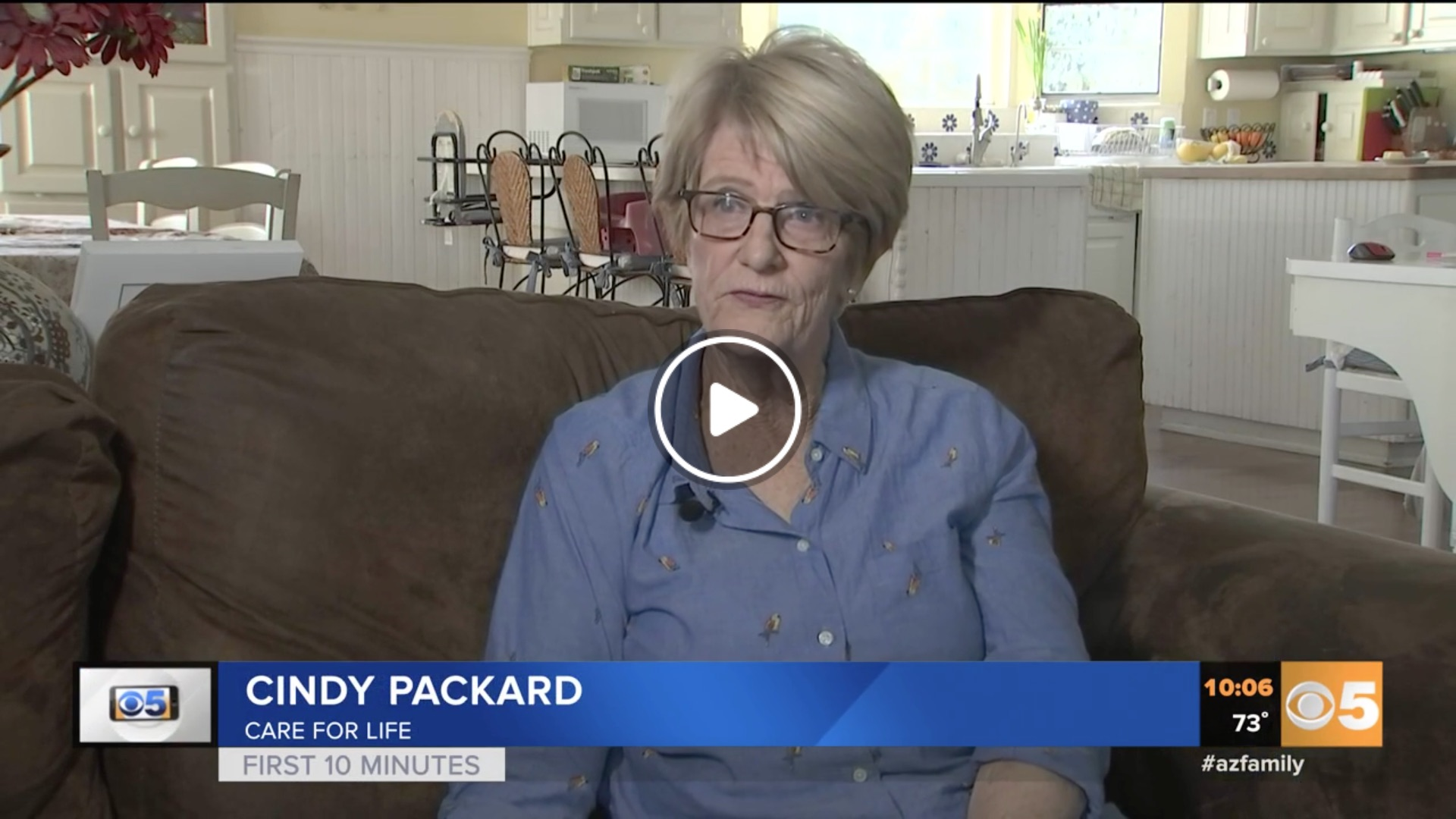 CBS News Phoenix features Care for Life
