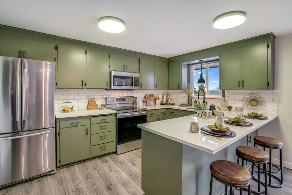 a green kitchen renovation from a licensed kitchen and bath remodeler