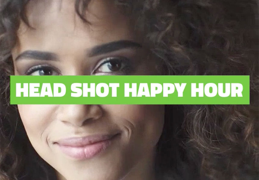 Headshot Happy Hour