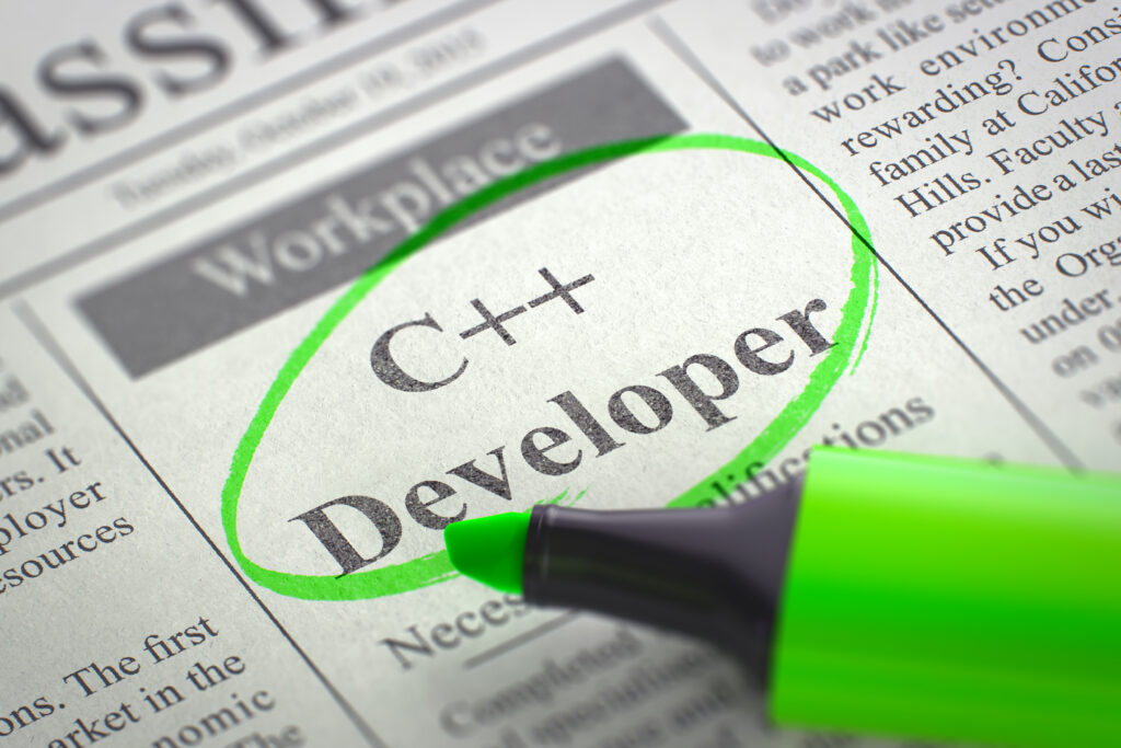 Nyla is regularly filling C++ Jobs - Reach out today to see if we have an opening!
