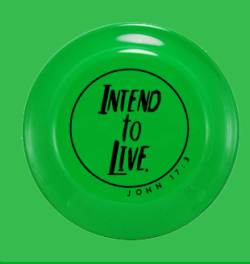 Intend to Live Frisbee - Green