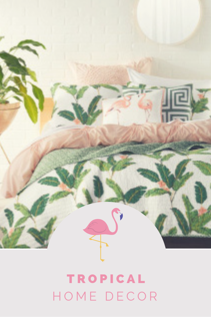 Tropical Decor Blonde And Beachy