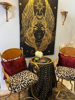 Goddess seating