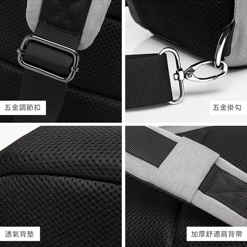 多層收納單肩防盜包-超高CP值