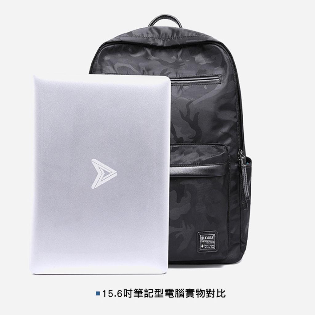 酷黑迷彩後背包-筆電後背包