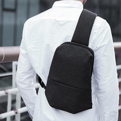 韓版單肩包-黑色包包