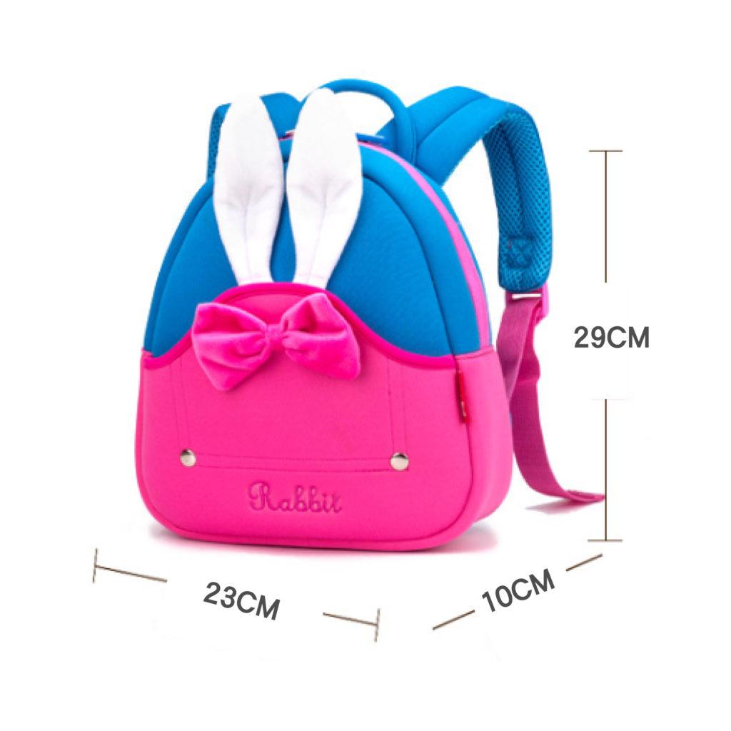 兔耳朵兒童背包-超輕護脊