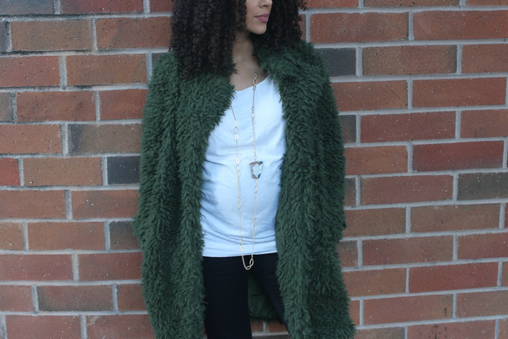 Shaggy Faux Fur Coat