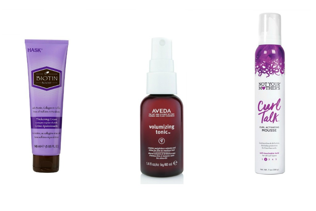 Volumizing Products for fine curly hair
